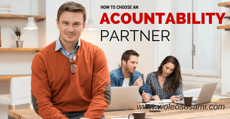 How to Choose an Accountability Partner
