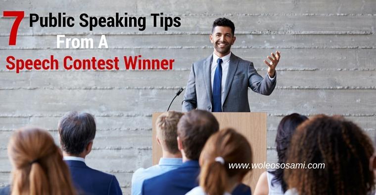 7 Public Speaking Tips From a Speech Contest Winner