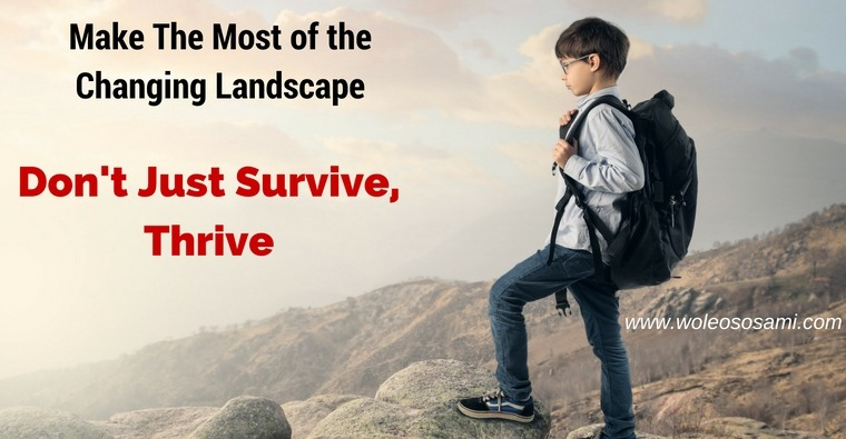 Make The Most of The Changing Landscape