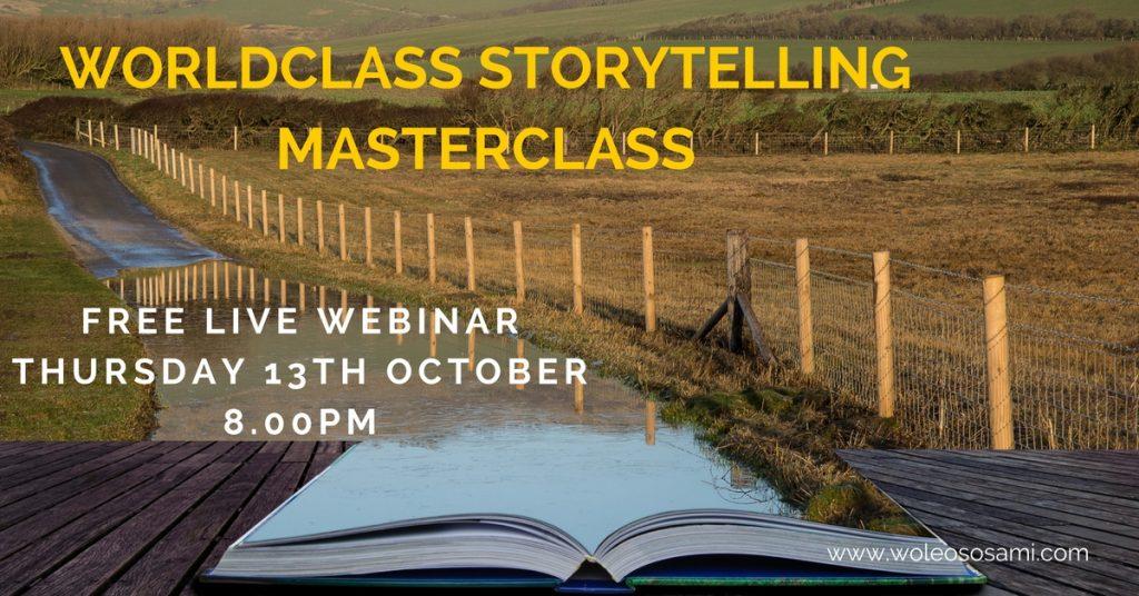 Storytelling Masterclass