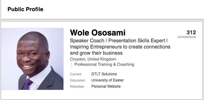 Wole LinkedIn Profile